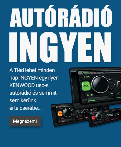Ingyen KENWOOD autórádió